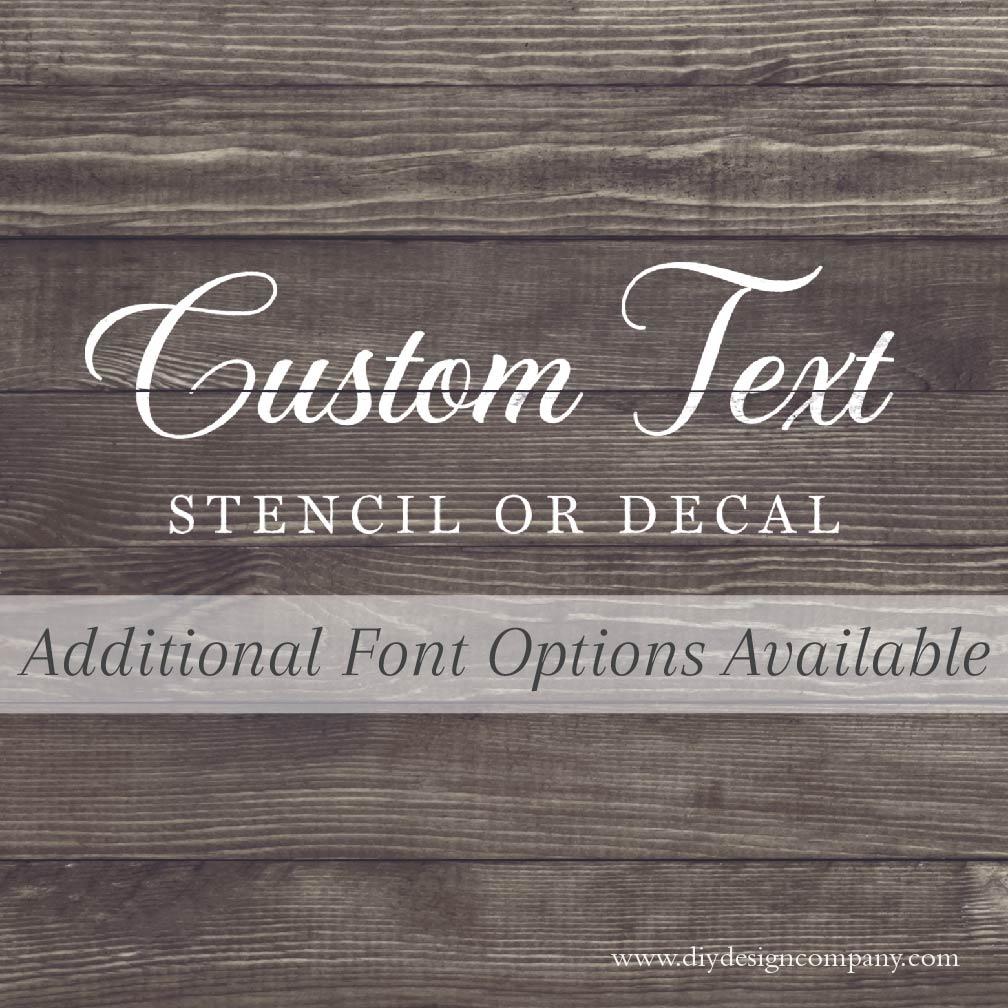 Custom Text_Website