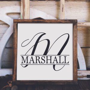 Name & Monogram Designs
