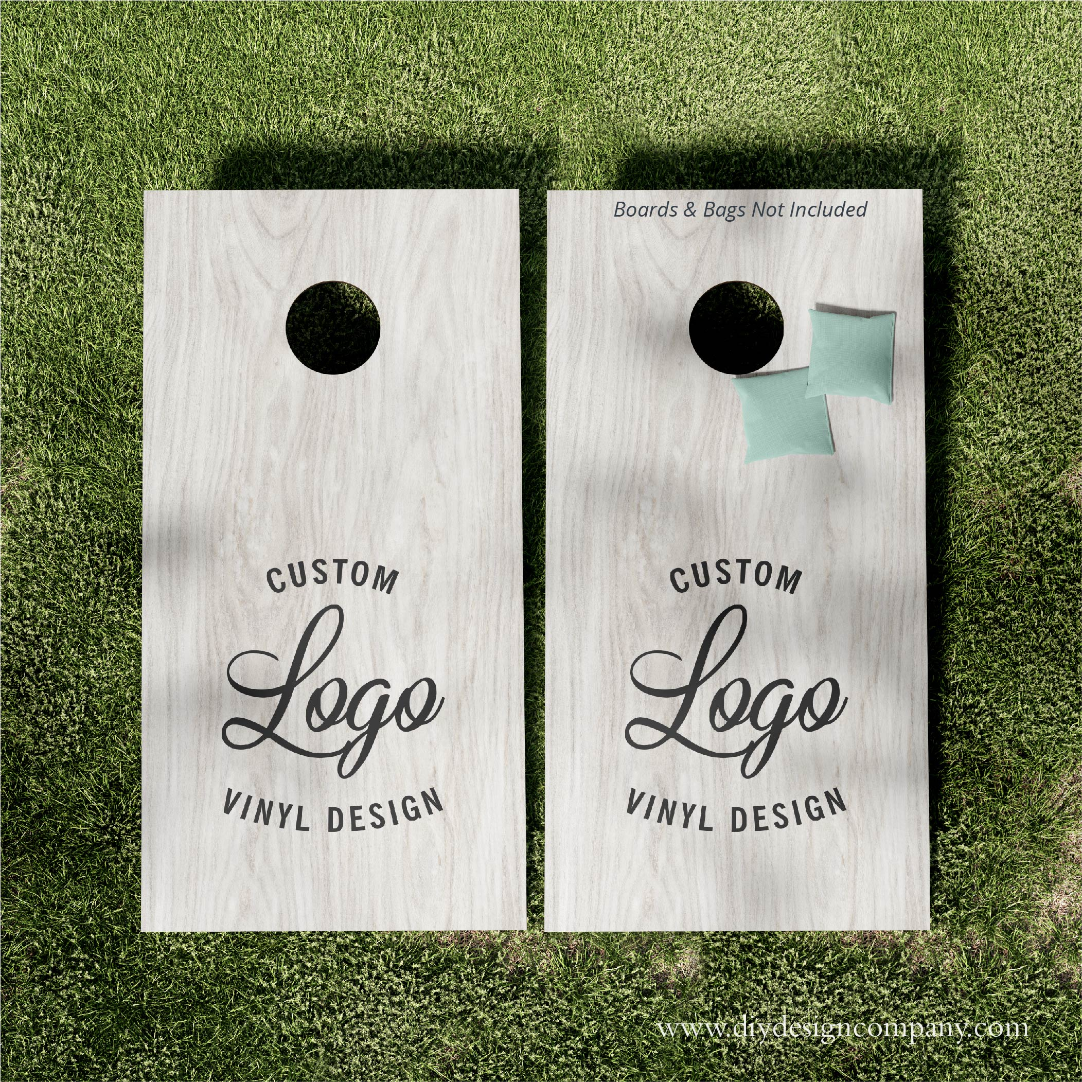 Cornhole Boards_Custom Logo_Website