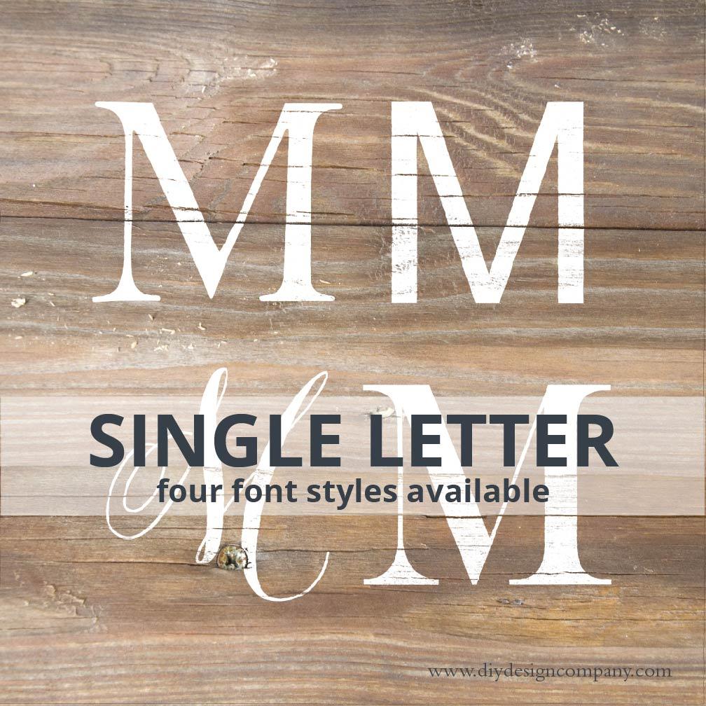 Single Letter_Website