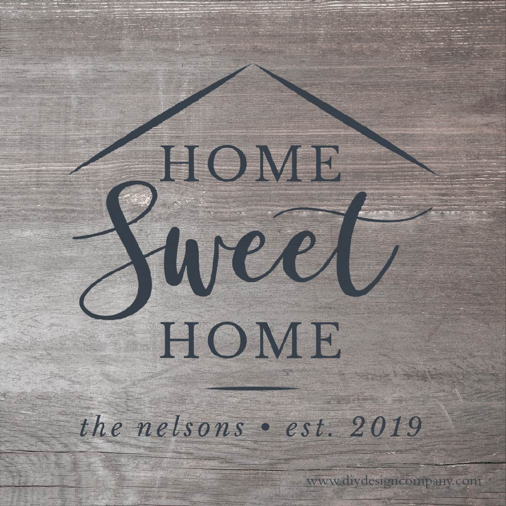 Personalized Home Sweet Home_Website